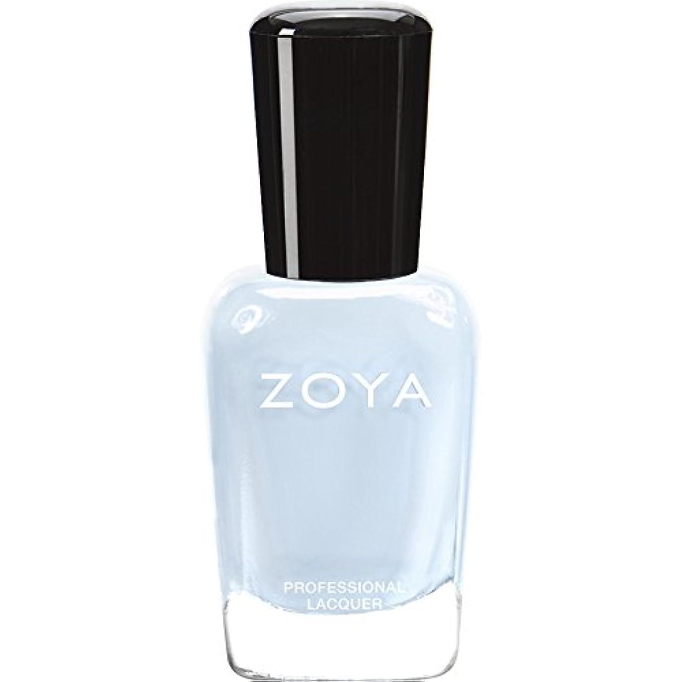疑い魔術師リラックスZOYA ゾーヤ ネイルカラー ZP653 BLU ブルー 15ml  2012 LOVELY COLLECTION 光沢のある淡いベビーブルー マット 爪にやさしいネイルラッカーマニキュア