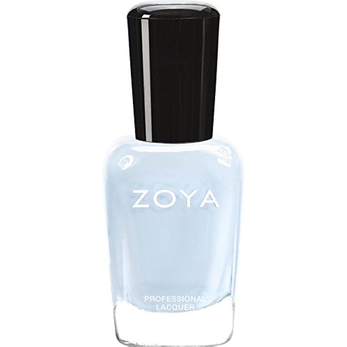 両方溶けた彫るZOYA ゾーヤ ネイルカラー ZP653 BLU ブルー 15ml  2012 LOVELY COLLECTION 光沢のある淡いベビーブルー マット 爪にやさしいネイルラッカーマニキュア