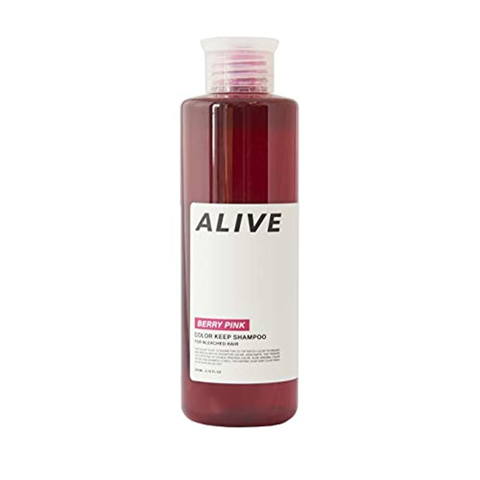 微生物汚染された悲しみALIVE アライブ カラーシャンプー 極濃ベリーピンクシャンプー ムラシャン レッドシャンプー 赤 200ml