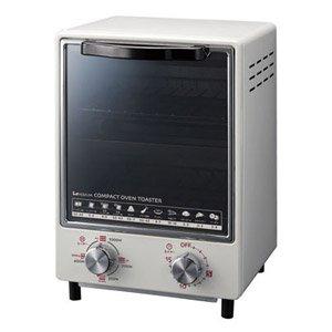 KOIZUMI(コイズミ) 【縦型2段で場所をとらないスリム型】オーブントースター ホワイト KOS-1011/W