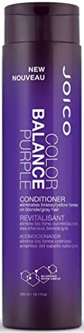 パラダイスやりすぎ大使ジョイコ Color Balance Purple Conditioner (Eliminates Brassy/Yellow Tones on Blonde/Gray Hair) 300ml/10.1oz並行輸入品