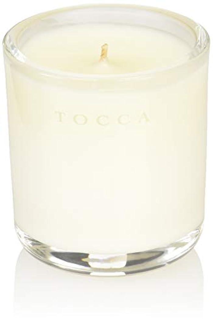 過敏なポップ金額TOCCA(トッカ) ボヤージュ キャンデリーナ カプリ 85g (ろうそく 芳香 柑橘とメロンの魅惑なシトラスな香り)