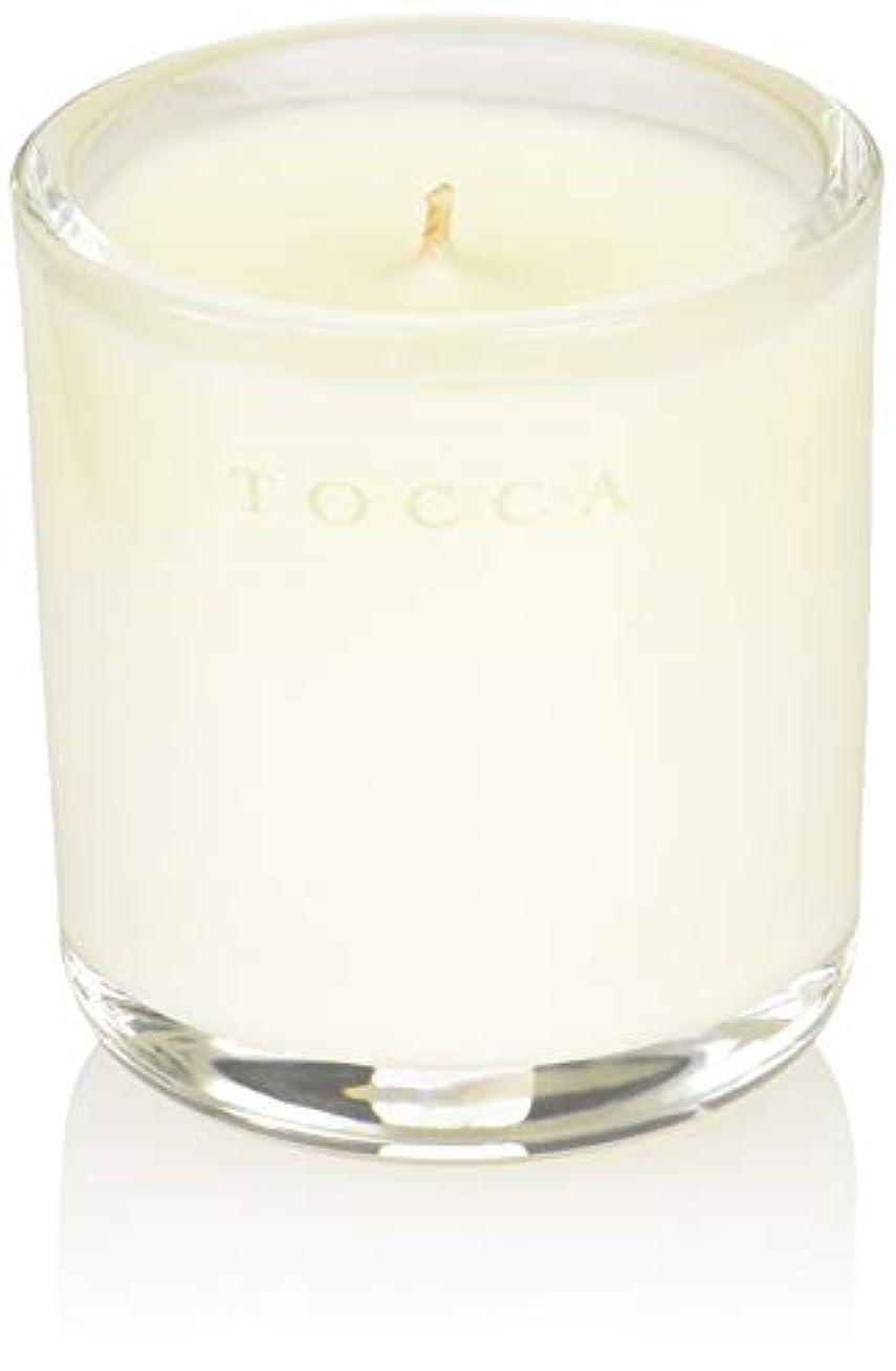 塩辛い対話わかりやすいTOCCA(トッカ) ボヤージュ キャンデリーナ カプリ 85g (ろうそく 芳香 柑橘とメロンの魅惑なシトラスな香り)