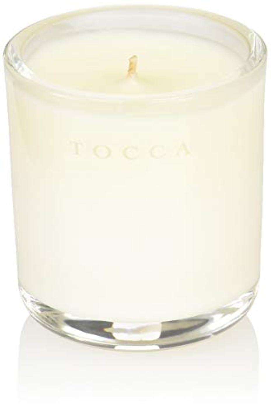 竜巻有毒な保険をかけるTOCCA(トッカ) ボヤージュ キャンデリーナ カプリ 85g (ろうそく 芳香 柑橘とメロンの魅惑なシトラスな香り)