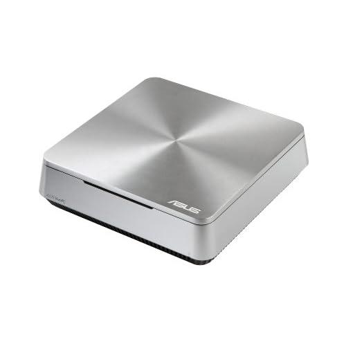 ASUS ミニパソコン VIVOPC VM42 ( Win8.1 64bit / Celeron 2957U / 4GB / HDD 1TB / シルバー ) VM42-S014R