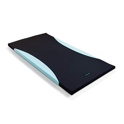 1830個以上の点で眠りを深化させる 【エアキューブ】 特殊立体凹凸構造マットレス 高反発 点で支えて体圧分散 血行障害を緩和 3D特殊カットで熱がこもりにくい 厚み5cm (シングル)