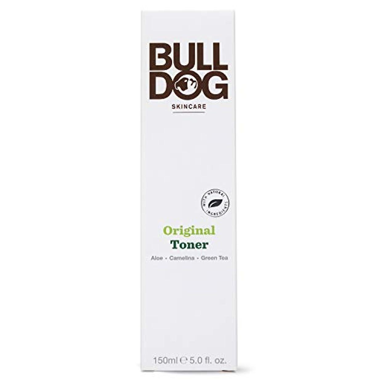 嬉しいですテーブル抵当Bulldog(ブルドッグ) ブルドッグ Bulldog オリジナル トナー 化粧水 150ml 肌をすっきり なめらかに