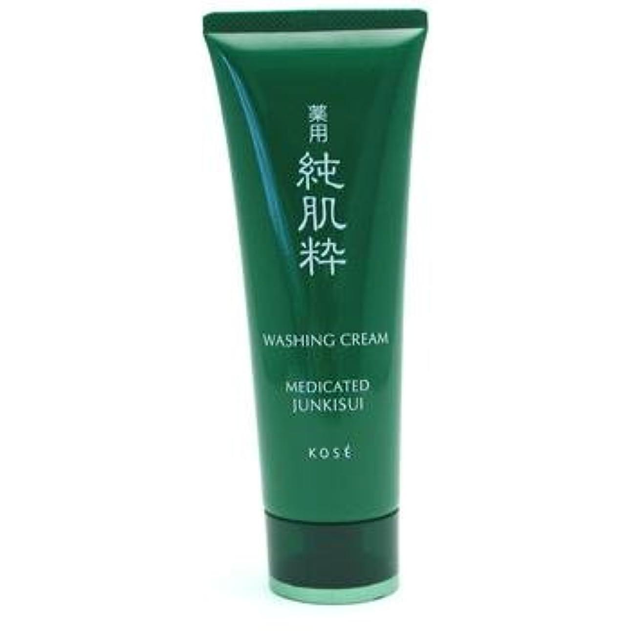 不合格雰囲気冷ややかなコーセー 薬用純肌粋 洗顔クリーム<医薬部外品>(120g)