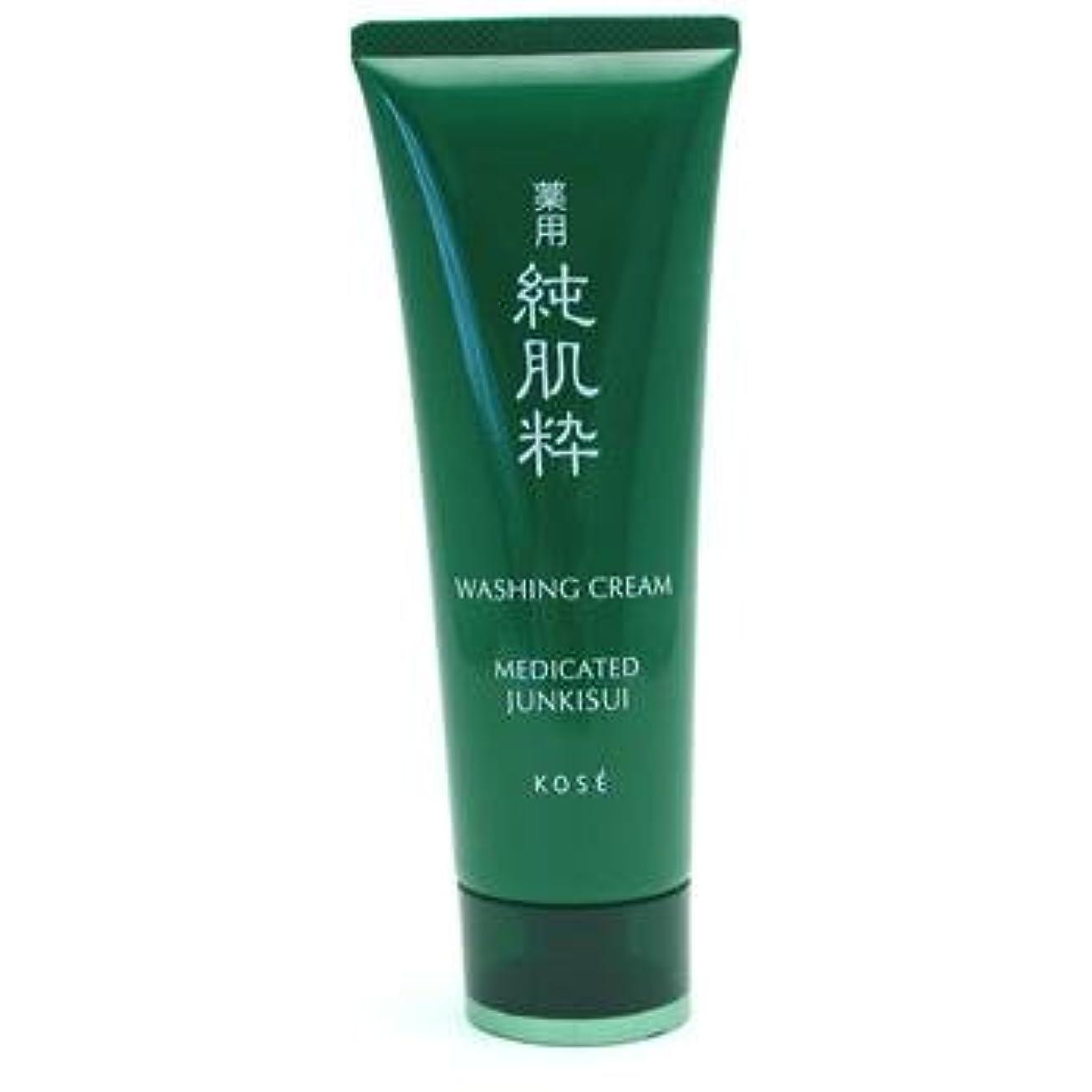 負荷表面消防士コーセー 薬用純肌粋 洗顔クリーム<医薬部外品>(120g)