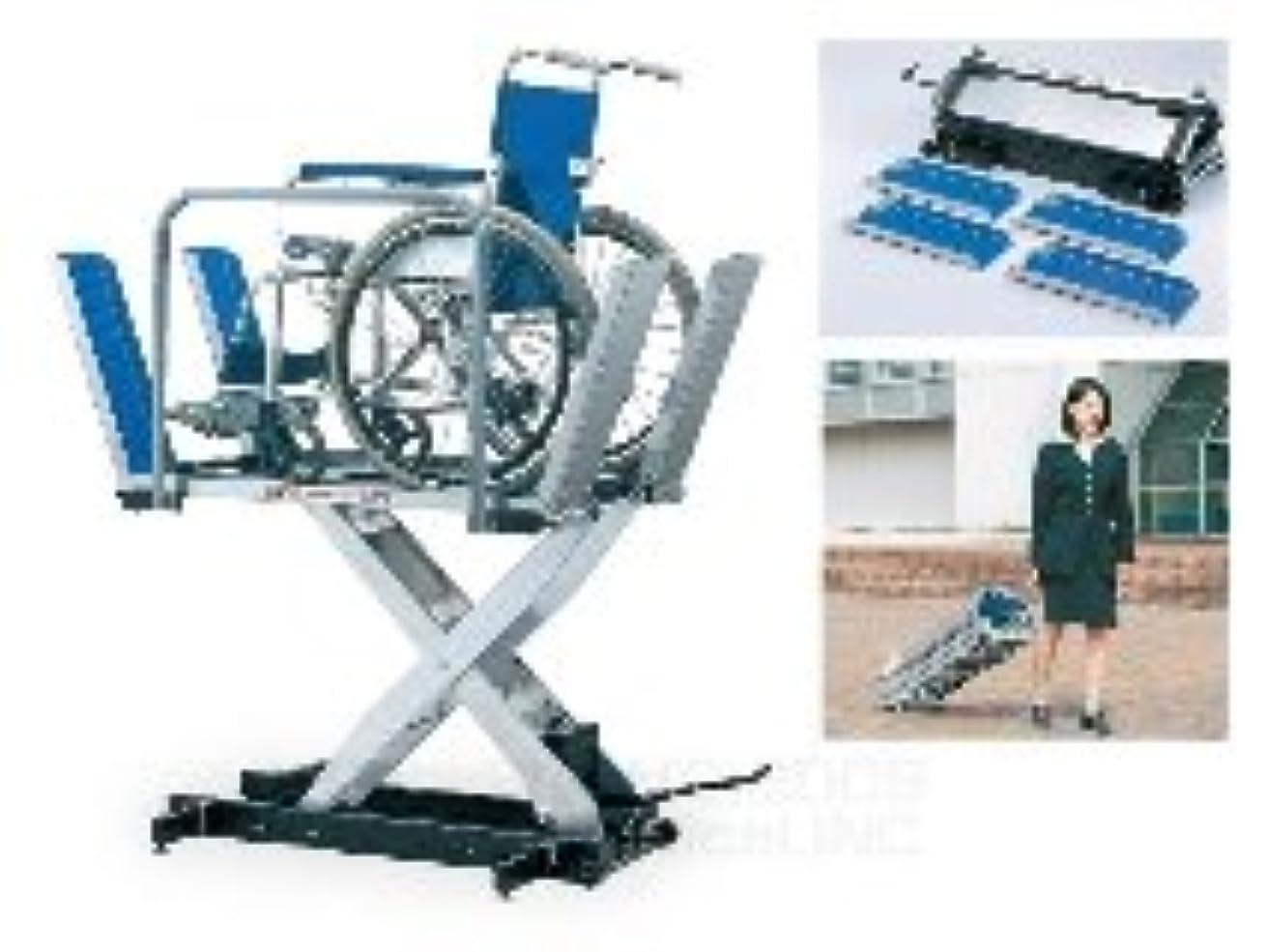 教海峡ひもロバ車椅子専用 足踏み昇降機 ゼロハイトリフト 150