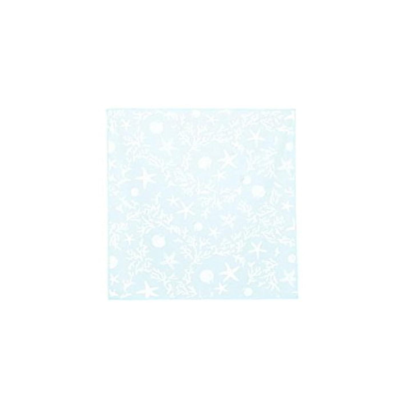 泥灌漑沈黙トモコーポレーション テーブルクロス 北欧 正方形 (マリッサ/ペールブルー(13))