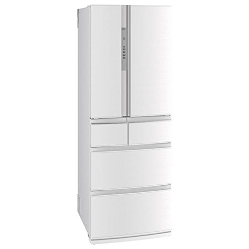 三菱 461L 6ドア冷蔵庫(クロスホワイト)MITSUBISHI 置けるスマート大容量 RXシリーズ MR-RX46C-W