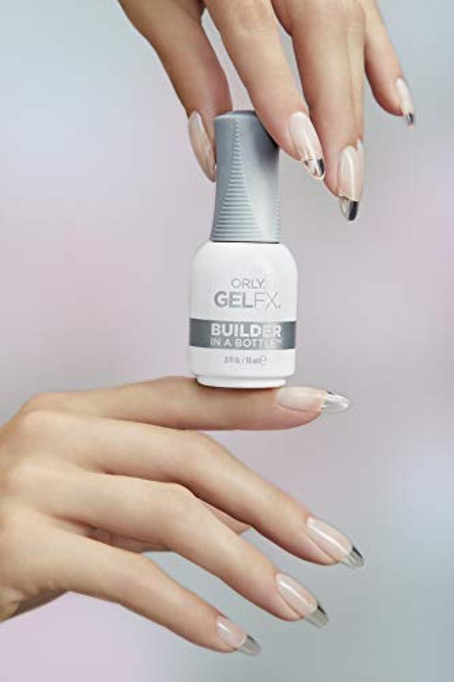 満員悪意ランチョンOrly Gel FX - Soak-Off Sculpting Gel - Builder - 18 mL / 0.6 oz