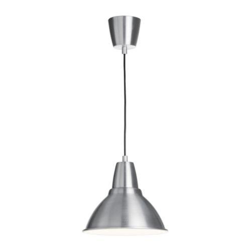 IKEA(イケア) FOTO アルミニウム 25 cm 70128180 ペンダントランプ、アルミニウム
