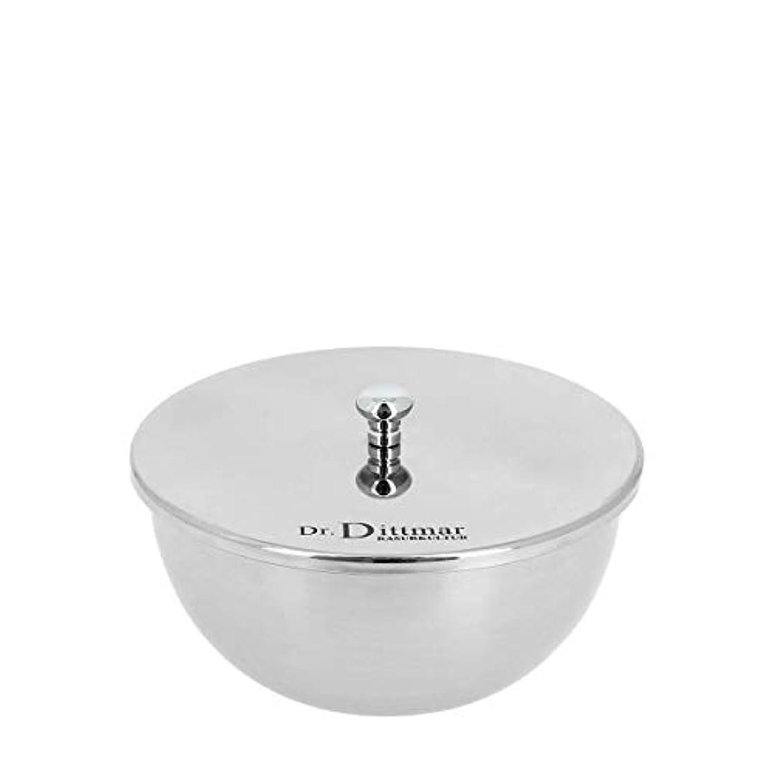 避難急いで受粉するDR.ディットマー シェービングボウル(シェービングソープと蓋付き)(9001)[海外直送品]Dr. Dittmar Shaving Bowl with Shaving Soap and Lid (9001) [並行輸入品]