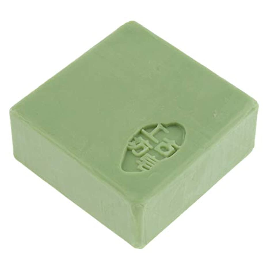 放射能残り分配しますフェイスソープ ボディソープ スキンケア 石鹸 メイク落とし 全3色 - 緑