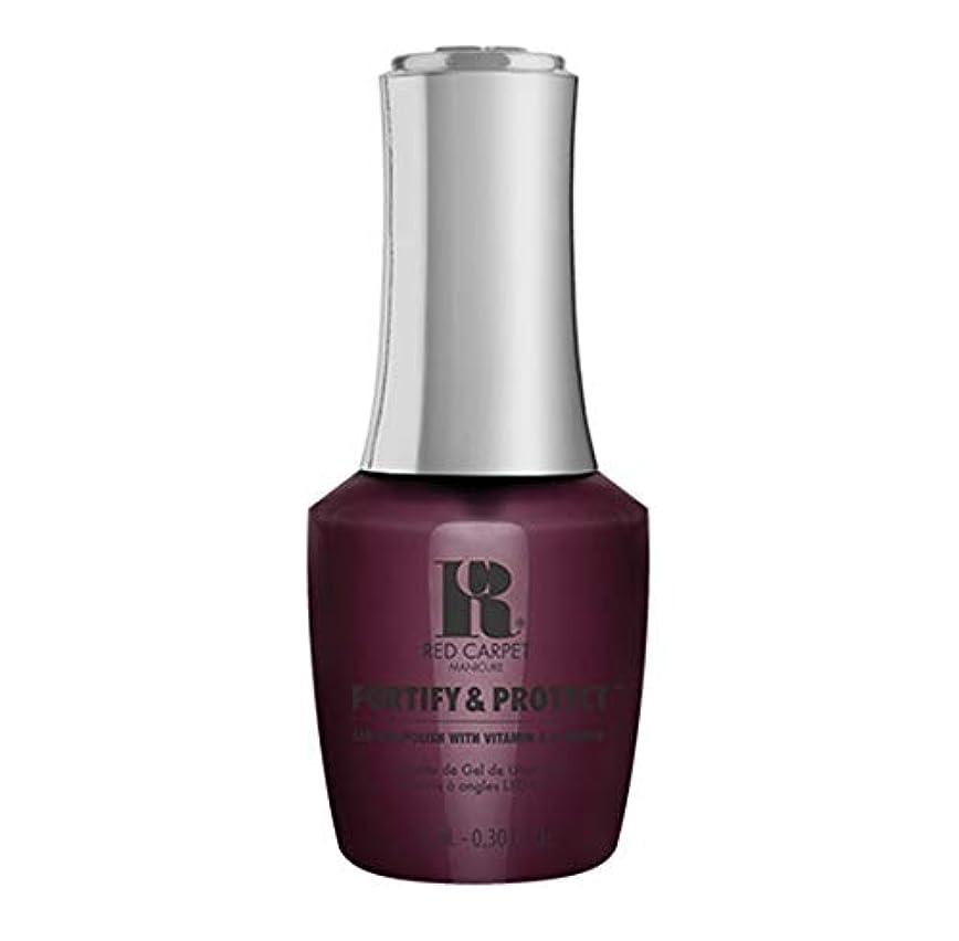 広告広告する工業用Red Carpet Manicure - Fortify & Protect - Film Reel Red - 9ml / 0.30oz