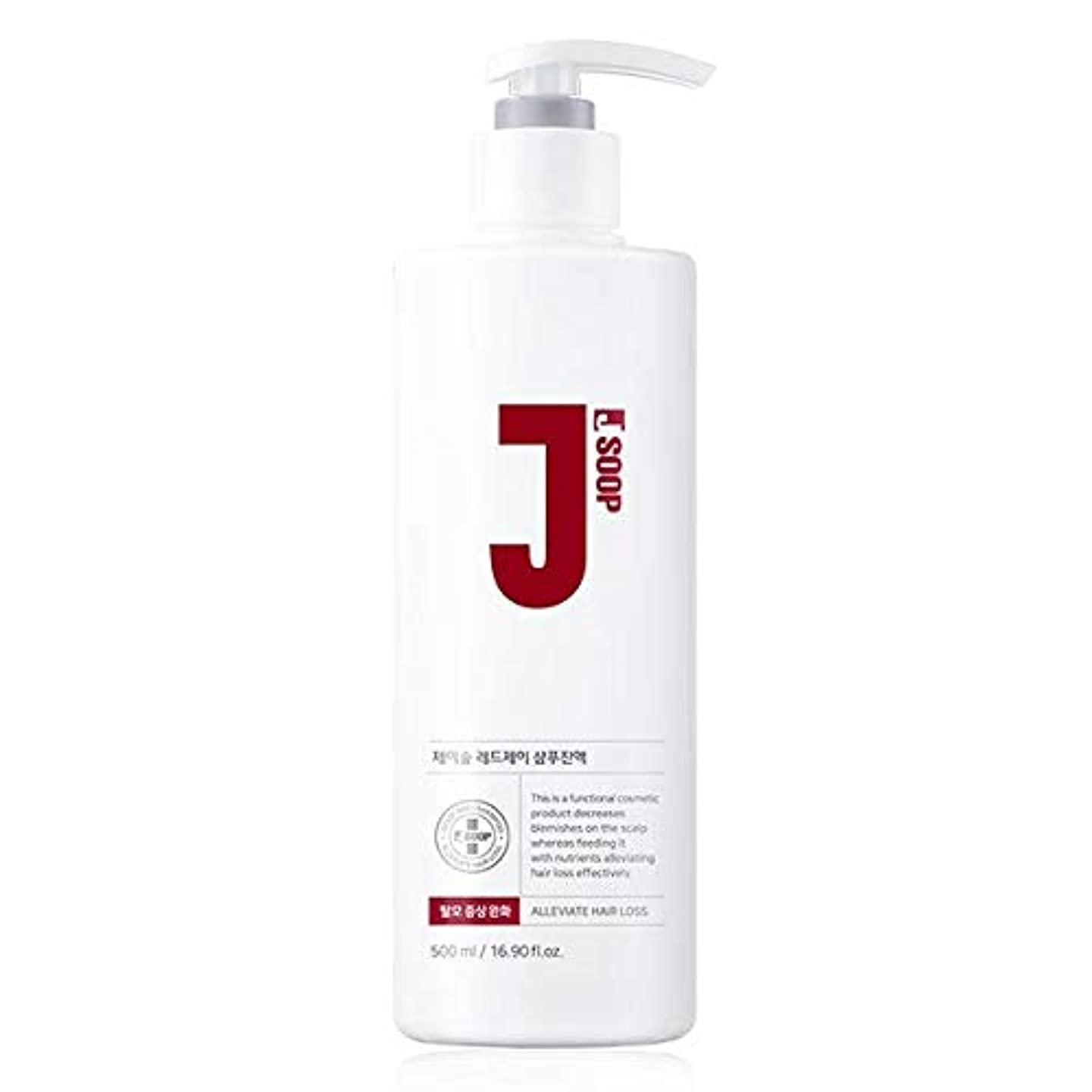 多様な厳密に地元JSOOP レッドJ シャンプー / 抜け毛の悩みに / Red J Shampoo (500ml) [並行輸入品]
