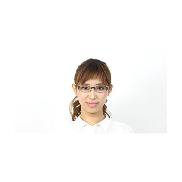 花粉対策眼鏡(めがね・メガネ) スカッシースマ...の紹介画像5