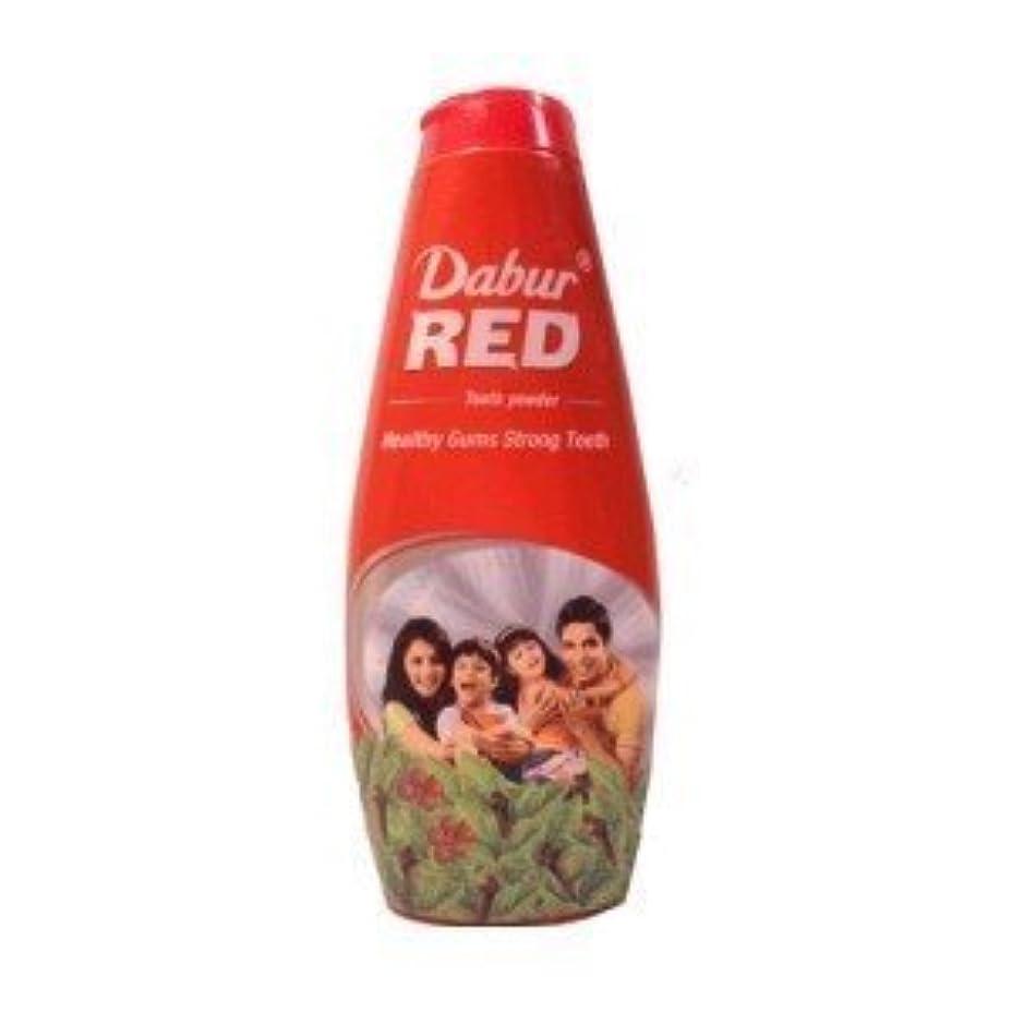 牧草地アルファベット姓Dabur Red Tooth Powder 300g by Dabur [並行輸入品]