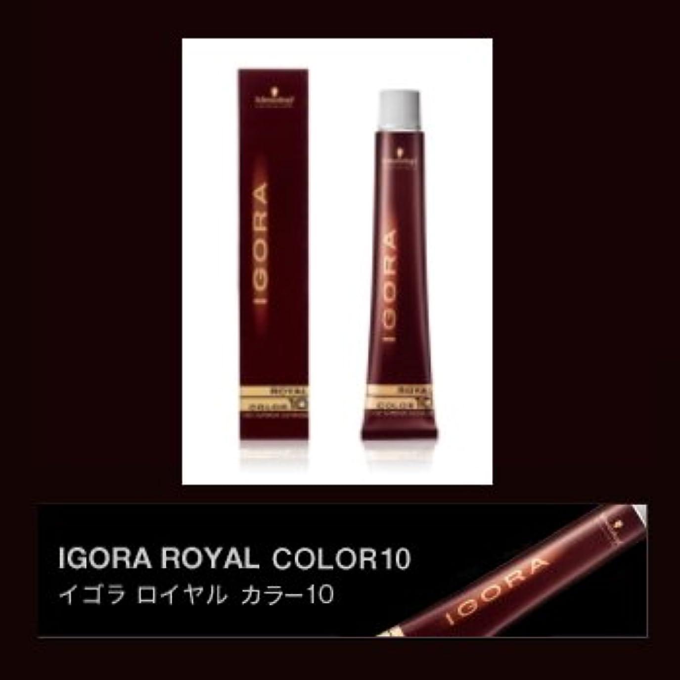 安価な政策ブレンドシュワルツコフ イゴラ ロイヤルカラー10 ブラウン 80g(1剤) 【ブラウン】B4X