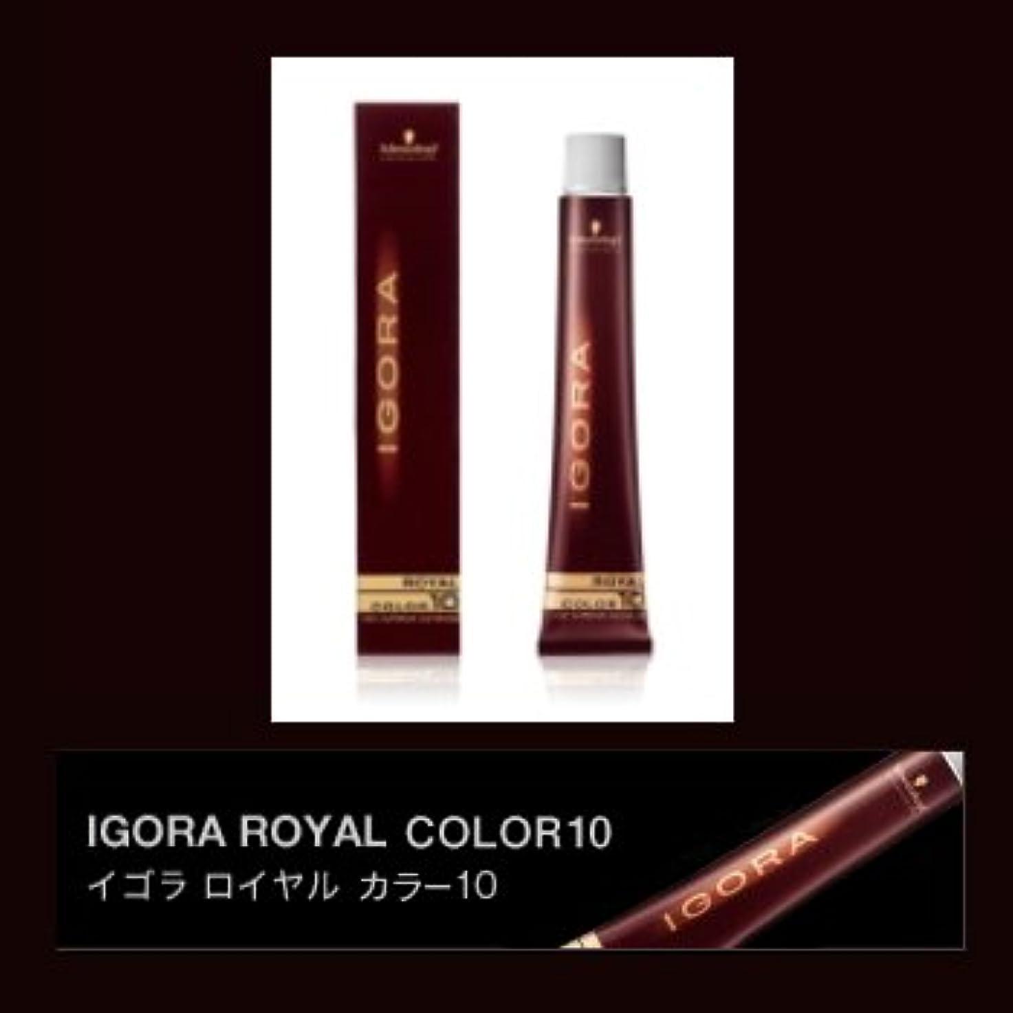 現代のペン反対にシュワルツコフ イゴラ ロイヤルカラー10 ブラウン 80g(1剤) 【ブラウン】B4X