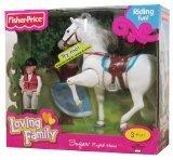 Fisher Price Loving Family Sugar English Horse [並行輸入品]
