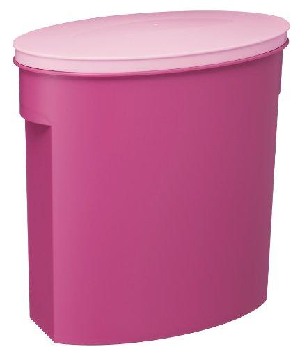 伊勢藤米びつ お米袋そのまま保存ケース5kg ピンク 保存容器 1個 伊勢藤