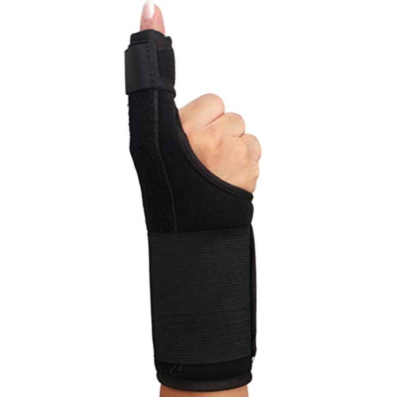 買収わずらわしいスプレーSUPVOXフィンガースプリント関節炎サムスプリントフィンガーブレースサポートガードスプリント矯正壊れた指用リストストラップ