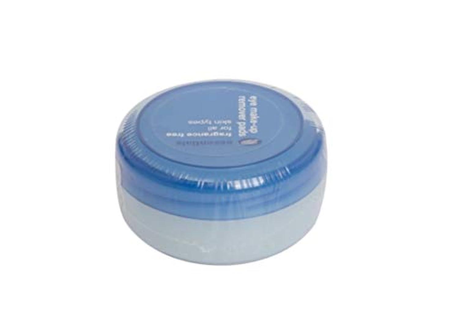 薄汚い主に現実にはessentials☆アイメイクリムーバーパット40枚入り(無香)eye make-up remover pads 40pcs(fragrance free)[並行輸入品]