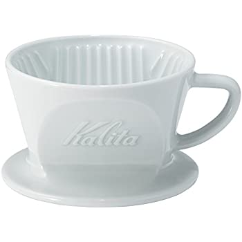 カリタ Kalita コーヒー ドリッパー 磁器製 波佐見焼 1~2人用 HASAMI & Kalita HA101 #01010
