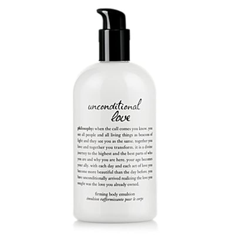 満足黄ばむ感情unconditional love (アンコンディショナルラブ ) 16.0 oz (480ml) perfumed firming body emulsion for Women