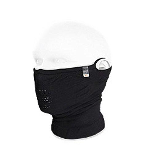 NAROO MASK N1 UV99%カット 夏用スポーツマスク (ブラック)