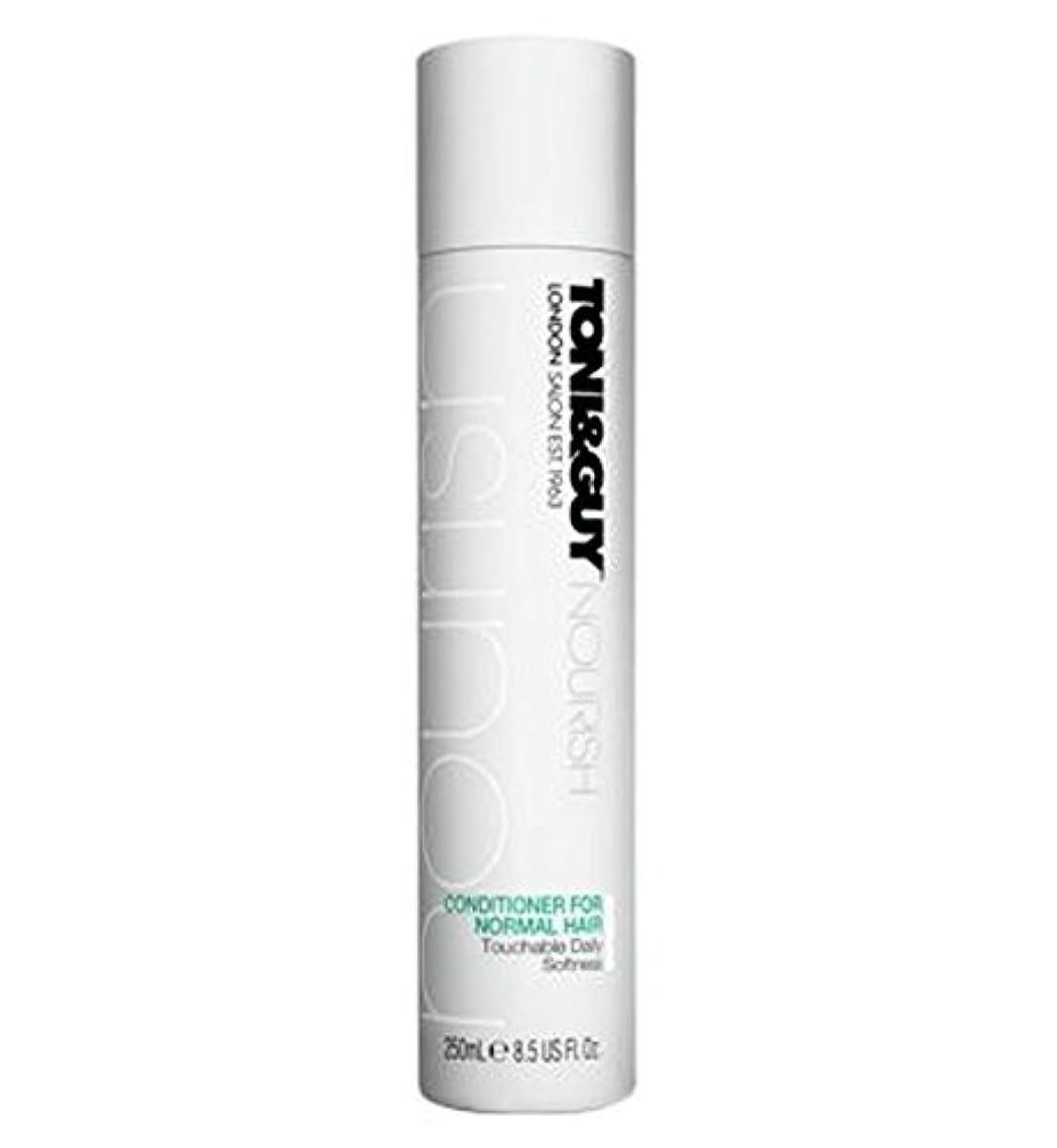 ダッシュファランクス真鍮Toni&Guy Conditioner for Normal Hair 250ml - ノーマルヘア250ミリリットルのためのトニ&男コンディショナー (Toni & Guy) [並行輸入品]