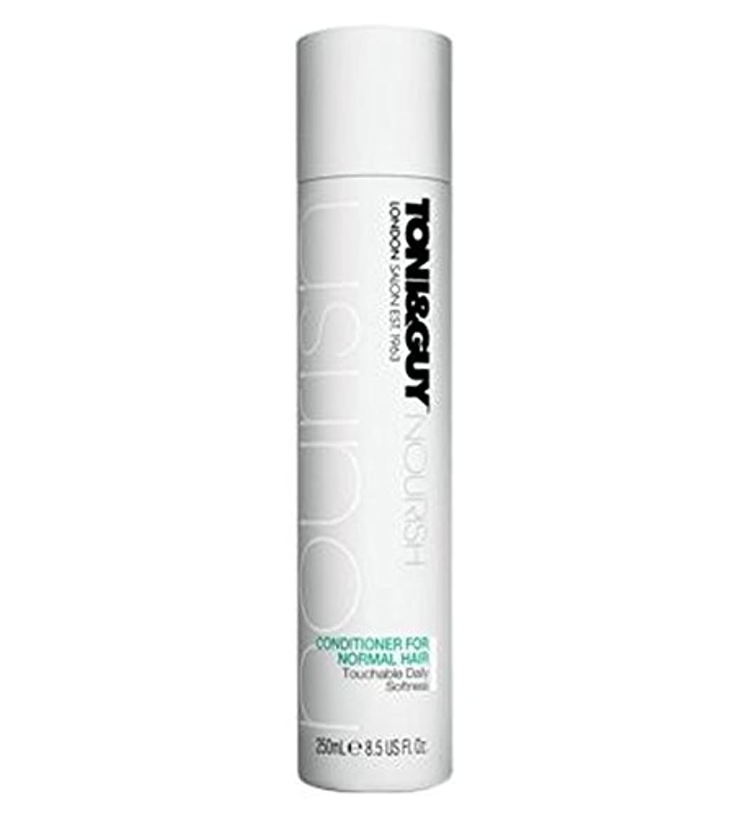 主流イデオロギー狐Toni&Guy Conditioner for Normal Hair 250ml - ノーマルヘア250ミリリットルのためのトニ&男コンディショナー (Toni & Guy) [並行輸入品]
