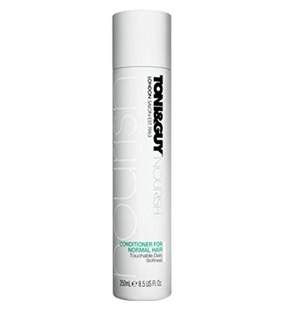 出発するピッチャーナチュラToni&Guy Conditioner for Normal Hair 250ml - ノーマルヘア250ミリリットルのためのトニ&男コンディショナー (Toni & Guy) [並行輸入品]