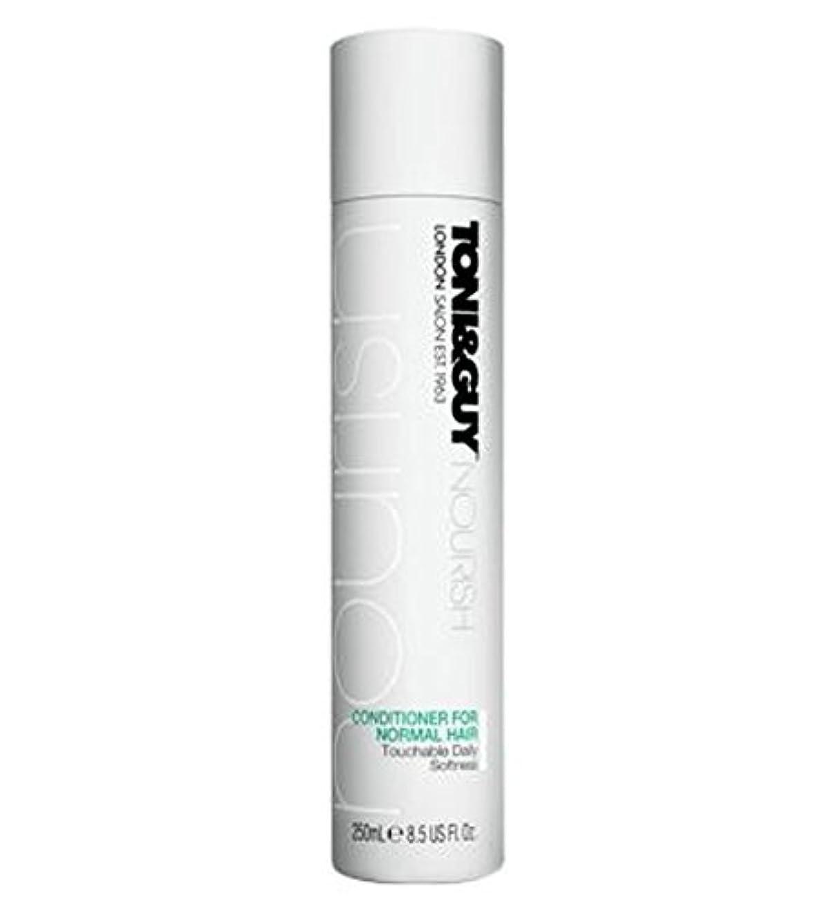調停する銛かけるノーマルヘア250ミリリットルのためのトニ&男コンディショナー (Toni & Guy) (x2) - Toni&Guy Conditioner for Normal Hair 250ml (Pack of 2) [並行輸入品]