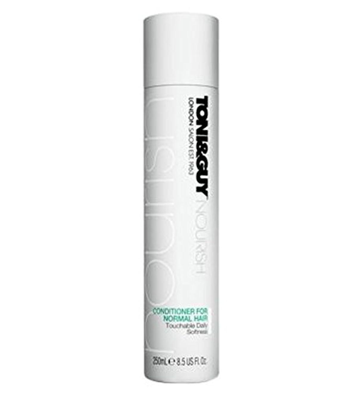 シャイ哺乳類ノイズToni&Guy Conditioner for Normal Hair 250ml - ノーマルヘア250ミリリットルのためのトニ&男コンディショナー (Toni & Guy) [並行輸入品]