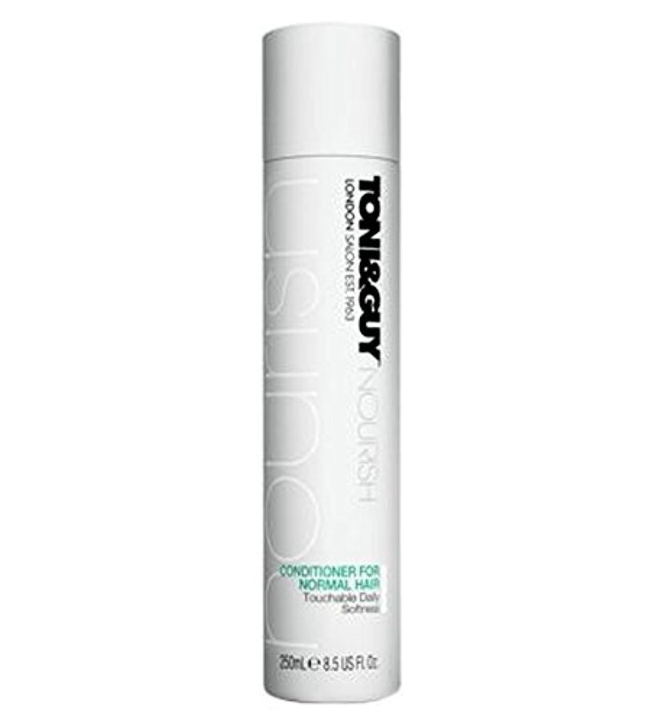 蒸気危険にさらされているフェローシップToni&Guy Conditioner for Normal Hair 250ml - ノーマルヘア250ミリリットルのためのトニ&男コンディショナー (Toni & Guy) [並行輸入品]