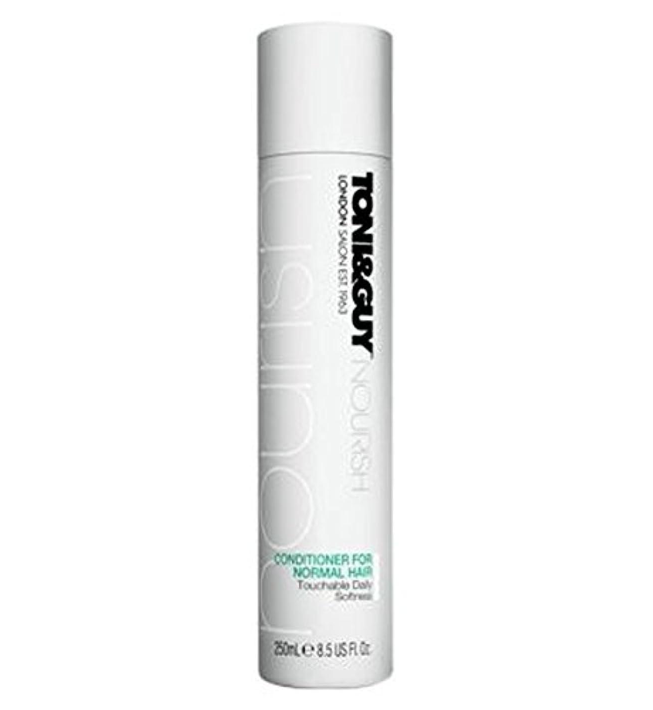 ディベート取り出すフェードToni&Guy Conditioner for Normal Hair 250ml - ノーマルヘア250ミリリットルのためのトニ&男コンディショナー (Toni & Guy) [並行輸入品]