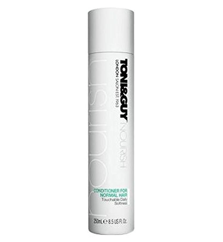 ファイターバイバイキャンセルToni&Guy Conditioner for Normal Hair 250ml - ノーマルヘア250ミリリットルのためのトニ&男コンディショナー (Toni & Guy) [並行輸入品]