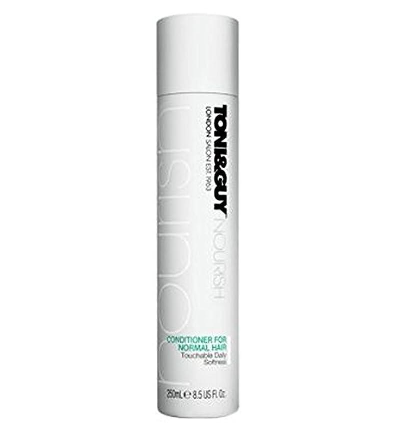 病弱長々と絶対のToni&Guy Conditioner for Normal Hair 250ml - ノーマルヘア250ミリリットルのためのトニ&男コンディショナー (Toni & Guy) [並行輸入品]
