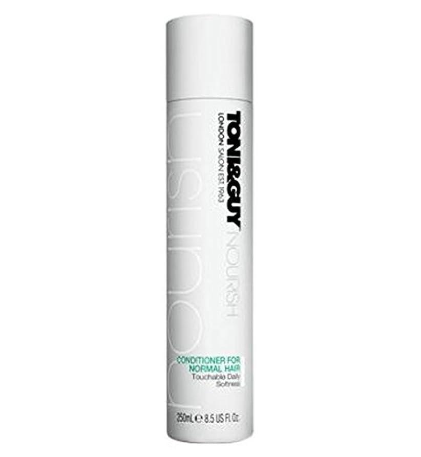 予見するペニースカーフToni&Guy Conditioner for Normal Hair 250ml - ノーマルヘア250ミリリットルのためのトニ&男コンディショナー (Toni & Guy) [並行輸入品]