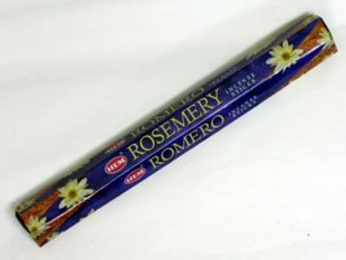 決定豊富に一般的にHEM 六角お香 6個入り ローズマリー