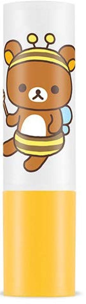 クモ宇宙作曲家★大人気!リラックマ エディション限定版★APIEU アピュ(オピュ)ハニー アンド ミルク リップ バーム 蜜と牛乳の栄養と保湿成分がしっと !