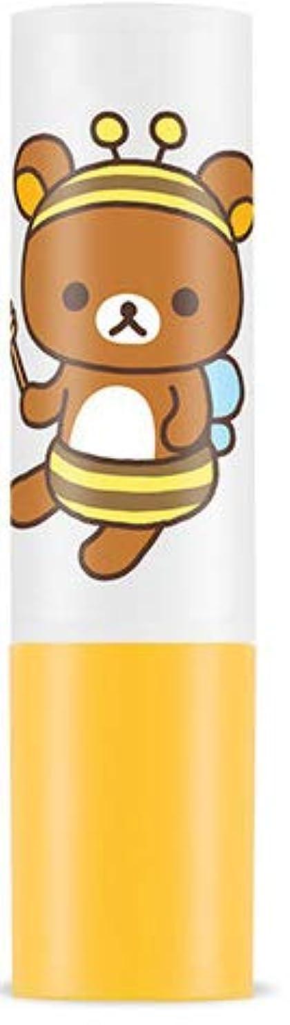 ★大人気!リラックマ エディション限定版★APIEU アピュ(オピュ)ハニー アンド ミルク リップ バーム 蜜と牛乳の栄養と保湿成分がしっと !