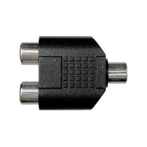 Hosa GRF-341 ステレオミニメス-RCAメス×2 変換アダプター