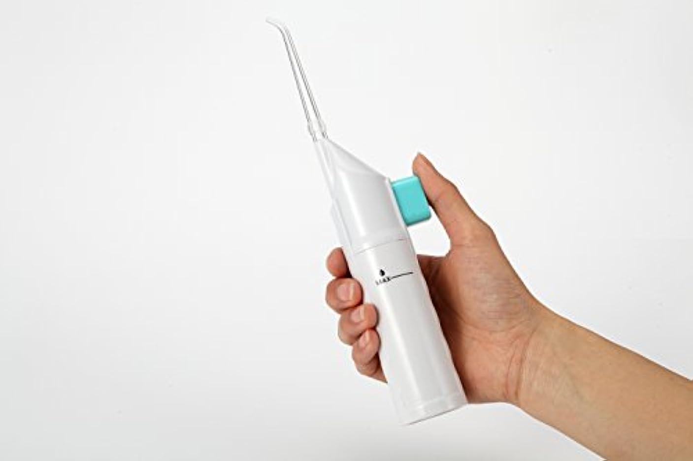 ヒューバートハドソン踏みつけ人事4G-Kitty 口腔洗浄器 手動ポンプ式 ウォーター 歯間洗浄器 歯間 ジェットクリーナー (AR-W-11)