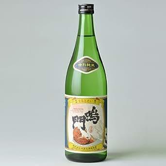 鳴門鯛 特別純米酒 720ml【蔵元直送】本家松浦酒造