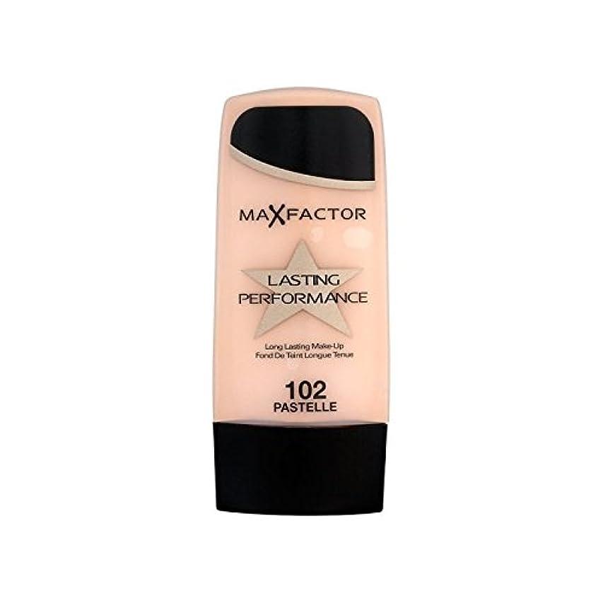 カリキュラムただ壊れたマックスファクター持続パフォーマンスの基礎 102 x2 - Max Factor Lasting Performance Foundation Pastelle 102 (Pack of 2) [並行輸入品]